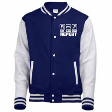Eat Sleep Mine Jacket Hoodie Jumper TShirt Sweatshirt Varsity Gamer Hoody