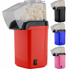 NEW HOME ELECTRIC POPCORN MAKER POP CORN POPPER MACHINE 2 COLOURS NO OIL NEEDED