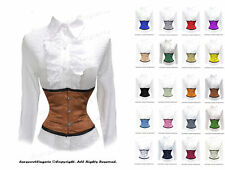Full Steel Boned Underbust Waist Cincher Burlesque Shaper Corset #979(BT)