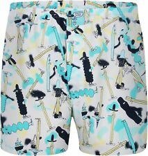 "Lousy Livin (Cleptomanicx) Boxershorts ""Pommes Crew"" Weiß"