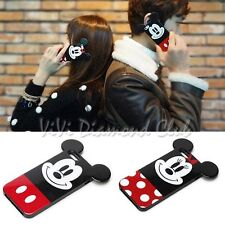 Fashion Cartoon DISNEY MICKEY MINNIE MOUSE TPU Couple Cover Case For iPhone 5 6