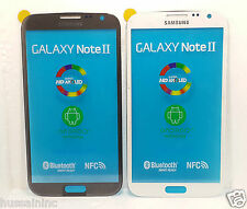 Front Outer Screen Glass Replacement Samsung Galaxy Note2 N7100 / N7105.