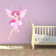 Full Colour Fairy Tale Fairy Wall Sticker Decal Mural Transfer Girls Bedroom