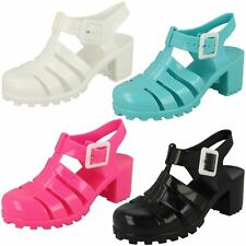 SALE Girls H3042 jelly shoes with heel Retail Price WAS £5.99 NOW £4.99
