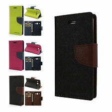 Mercury Diary Wallet Flip Case Back Cover for Samsung Galaxy Core I8262 Goospery