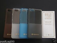 Dual Tone Soft Silicon Gel TOTU Back Case Cover For Micromax Canvas Fire 4 A107