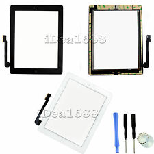 Replacement Digitizer Glass Touch Screen For iPad 3 3rd 4 4th with Home Button