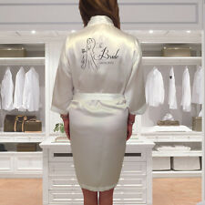 Personalised Lady Wedding Robe & Dressing Gown | Brides & Bridal Party