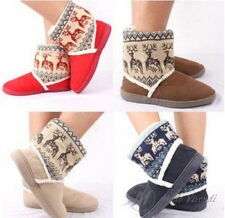 Modo Vivendi    Thick Woolen Ankle Shoes with Design on Ankle