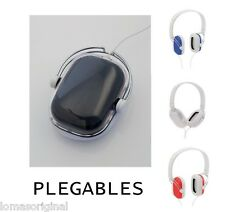 AURICULARES 3.5MM JACK MP3 MP4 PC TABLET PORTATIL PLEGABLES PLEGABLE CASCOS