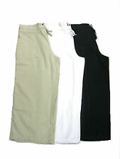 LN563 Ladies 3/4 length linen trousers by Tom Franks £9.99