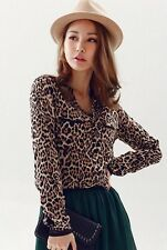 Modo Vivendi |Casual Leopard Print Ladies Shirt