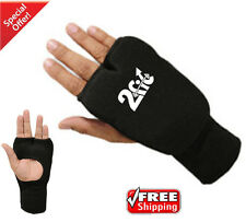 2Fit Karate Mitts Elasticated Cotton Martial Arts Boxing MMA Training New