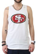 New Era Team Logo Tank Men SAN FRANCISCO 49ERS White