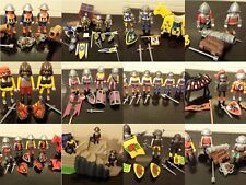 playmobil dragon bull lion knights solders cannon horses coach choose a set ,
