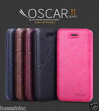 KLD Oscar II 2 Leather Flip Case Cover For Apple Iphone 5/5s.