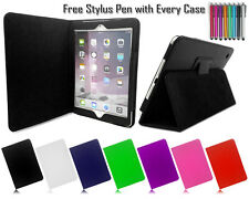 New Smart Leather Pu Wallet Slim Folio Stand Case Cover For Apple iPad 2 3 & 4