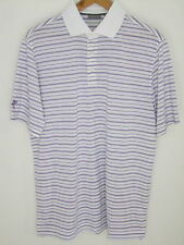 Ashworth EZ-TEC2 Golf Men's Double/Single Stripe Polo Shirts AM3111