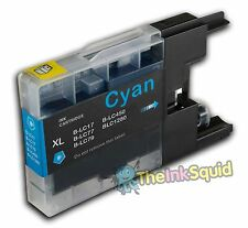 Cyan (Blue) LC1220/LC1240/LC1280 Compatible Ink Cartridge for Brother Printers