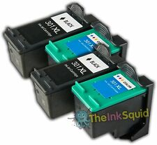 2 Sets of HP301XL Black (CH561EE) & Colour (CH562EE) Compatible  Ink Cartridges