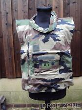 NEW French Military Camouflage Flak Jacket / Armoured Vest Cover / Paintballing