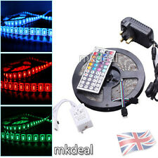 5M 300 LED RGB 5050/3528 Colour Changing Waterproof Strip Light Remote Lighting