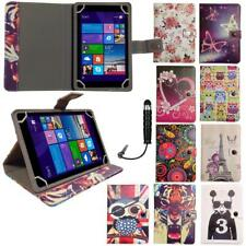 Stylish Universal Multi Angle Wallet Case Cover fits GoTab 7 Inch Tablet