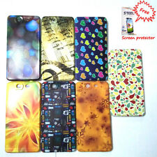 Micromax Canvas Knight A350 Case,,A 350 Designer Rubberized +Free screen guard