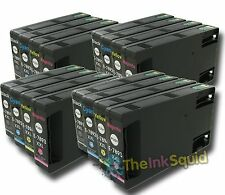 16 x Epson T78 XXL (T7891-4 XXL) Non-oem Ink Cartridges for Workforce Pro