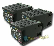 12 x Epson T78 XXL (T7891-4 XXL) Non-oem Ink Cartridges for Workforce Pro