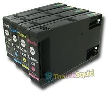 T78 XXL (T7891/T7892/T7893/T7894) Non-oem Ink Cartridge for Epson Workforce Pro