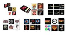 ROLLING STONES pink floyd LYNYRD SKYNYRD the who KISS - OFFICIAL COASTER SET