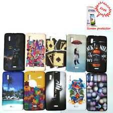 Rubberized back cover for Micromax Canvas Doodle 3 A102 + Free Screen Guard