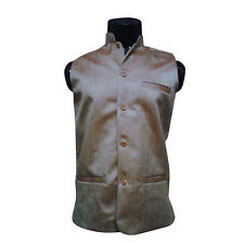 Mens Wear Nehru Jacket ,Party wear Jacket, jodhpuri collar (Size- XL-chest-42 )