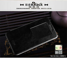 Window Flip PU Leather Back Stand Case Cover Pouch MOFI For LG optimus G2 D802