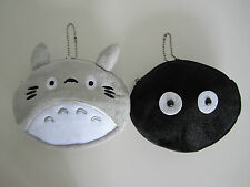 My Neighbour Totoro Soot Sprite Soft Plush Coin Purse Wallet Multi-purpose Pouch