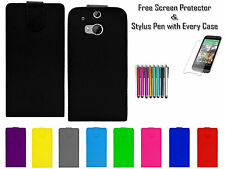 Premium Leather Pu Top Flip Wallet Book Case Cover Holder Pouch For HTC M8s UK