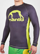 Manto Logo Long Sleeve Rash guard / Rashguard NoGi BJJ MMA