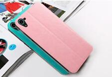Htc Desire 826 Leather Flip Case Cover pouch with Back Stand by Brand Mofi new