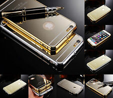 Real Ultra Thin Hard Aluminum Metal Bumper Case & Cover For iPhone 5 5S 6 6Plus