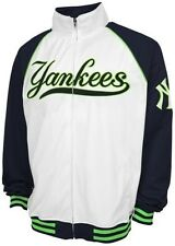 New York Yankees MLB Majestic Tricot Track Jacket Men's Big & Tall Sizes