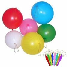 Punch Balloons Ideal For Party Bag Assorted Colours Boys Girls