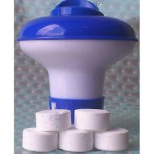 Chlorine Bromine Dispenser with 20g Chlorine Tablets for Spa Hot tub Pool