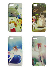 Studio Ghibli Totoro Spirited Away Mononoke Soft Phone Cases Cover Protector
