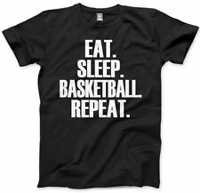 Eat Sleep Basketball Repeat Childrens Player Gift All Colours Tee Kids T-Shirt