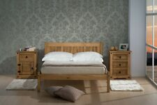Wooden Framed Pine Bed Frame With Headboard 3FT 4FT 4FT6 and mattress options
