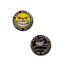 2015 Evil Micros Micro Geocoin / Pin Badge For Geocaching