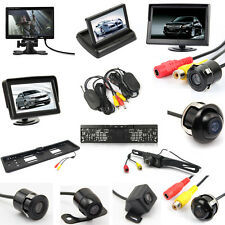 Wireless Retrocamera Telecamra / Monitor / IR Led Portatarga Telecamera Kit Auto