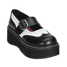 DEMONIA EMILY 302 Ladies Shoes Goth Punk  Goth Punk Lolita Rockabilly Oxford
