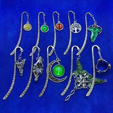 Lord of the Rings / Hobbit Pictorial Quality Metal Bookmark J R R Tolkien *NEW*